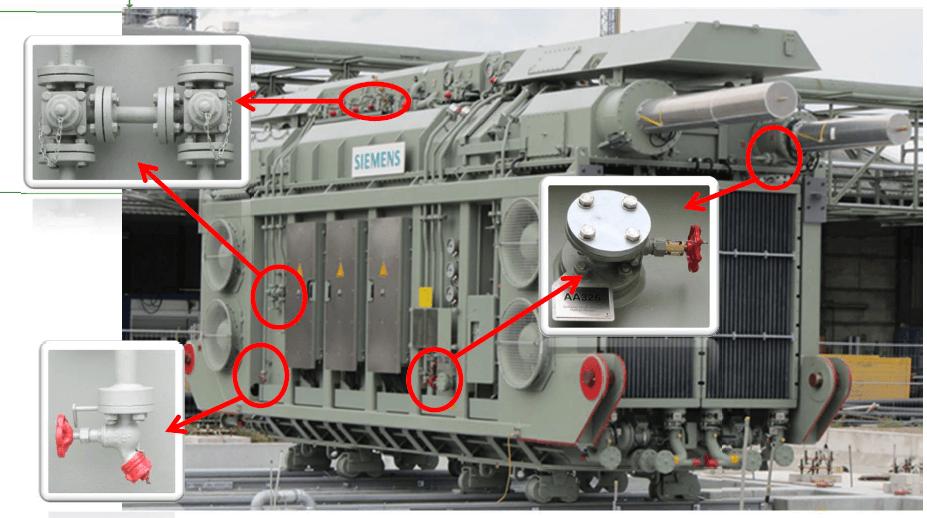 oliegekoelde transformatoren